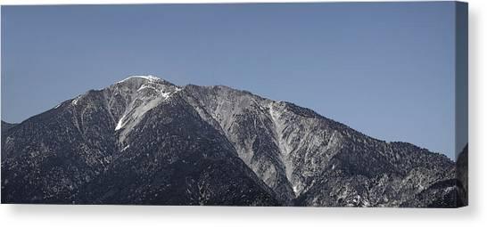 San Gabriel Mountains Canvas Print