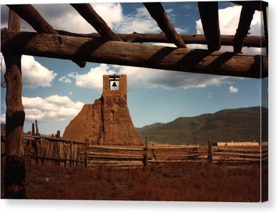 San Geronimo Church Ruins Canvas Print