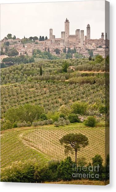 San Gimignano II Canvas Print