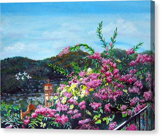 San Jose Church Matagalpa Canvas Print