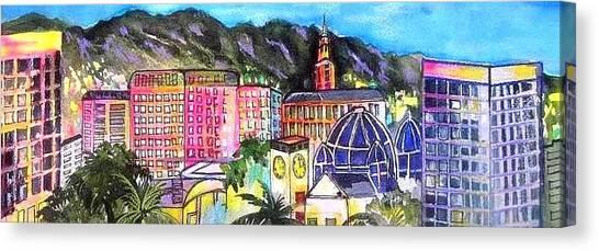 San Jose Skyline Canvas Print