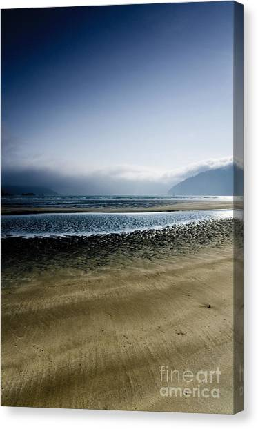 San Josef Bay 5 Canvas Print by Emilio Lovisa
