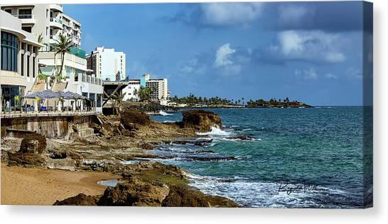 San Juan Bay In Puerto Rico Canvas Print