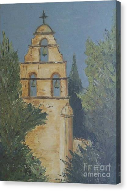 San Juan Mission Canvas Print