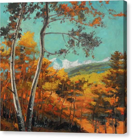 San Juan Shimmer Canvas Print