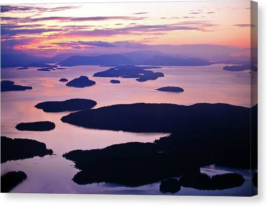 Orcas Canvas Print - San Juans Tranquility by Mike Reid