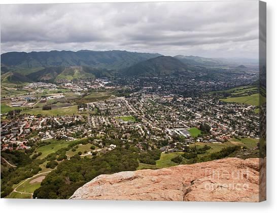 Cal Poly Canvas Print - San Luis Obispo, California by Jeffrey Kreulen