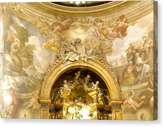 San Rafael / Altar Canvas Print
