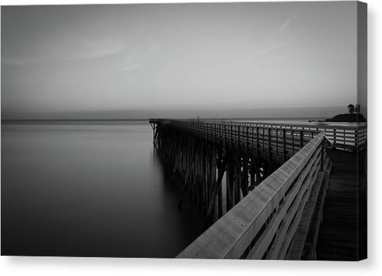 San Simeon California Long Exposure Canvas Print