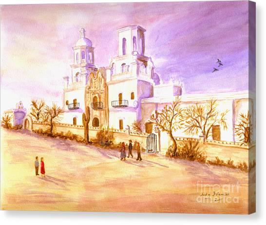 San Xavier Canvas Print
