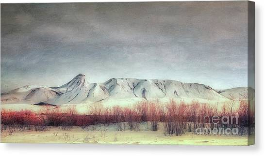 Yukon Canvas Print - Sanctuary,  by Priska Wettstein