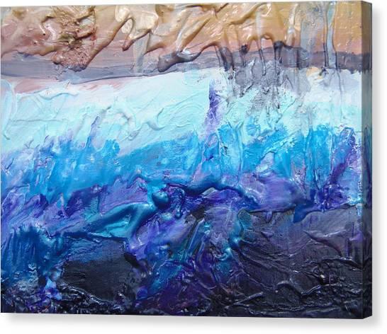 Underwater Caves Canvas Print - Sanctum by Max Bowermeister