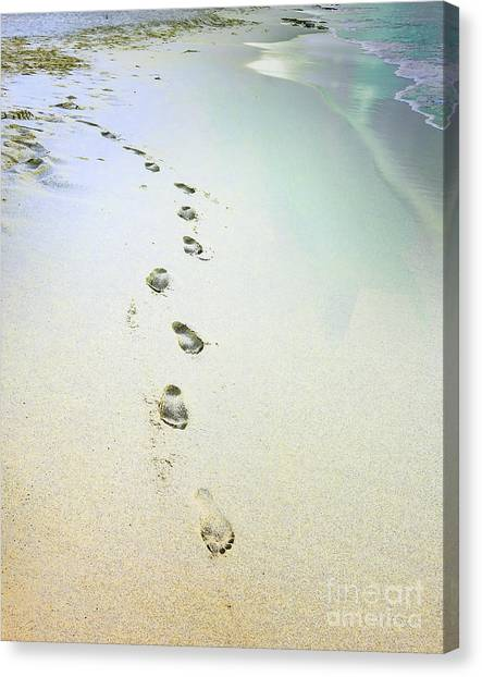 Sand Between My Toes Canvas Print
