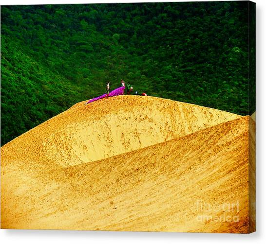 Sand Dune Fun Canvas Print
