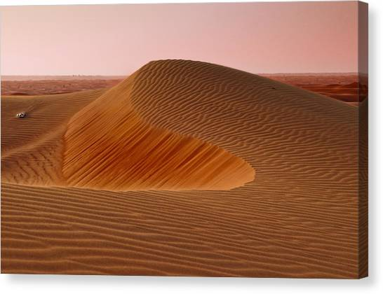 Arabian Desert Canvas Print - Sand Dune by Mick House