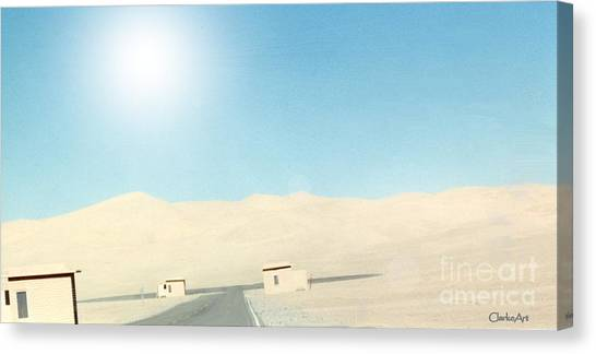 Sand Dune Surreal Canvas Print