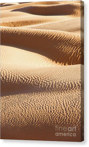 Sahara Desert Canvas Print - Sand Dunes 2 by Delphimages Photo Creations