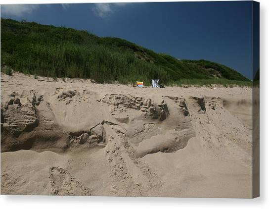 Sand Dunes II Canvas Print by Jeff Porter