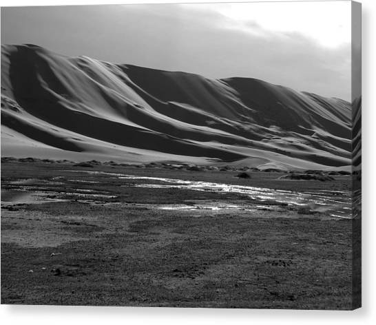 Sand Dunes Of The Gobi Canvas Print