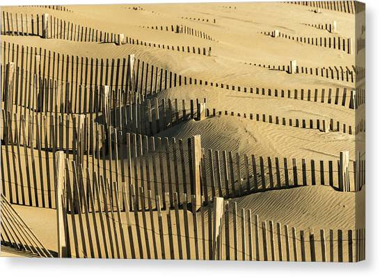 Sand Dunes Of The Outer Banks Canvas Print