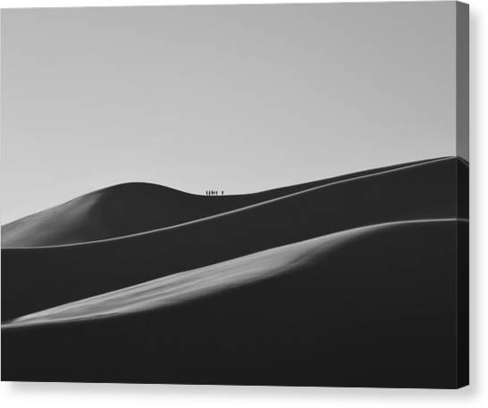 Sand Trekkers Canvas Print