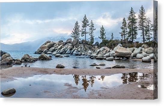 Sand Harbor Canvas Print