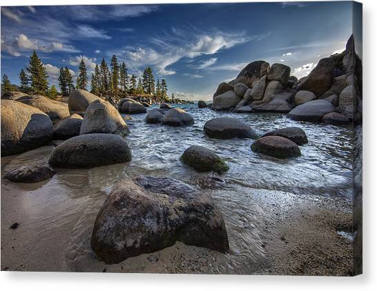 Sand Harbor II Canvas Print