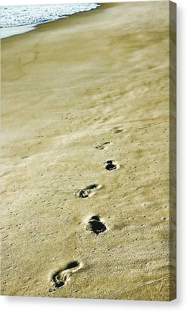 Sand In Motion Canvas Print by JAMART Photography