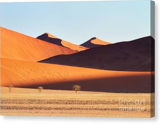 Sandy Desert Canvas Print - Sand Mountains by Richard Garvey-Williams