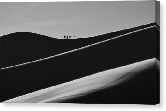 Sand Trekkers 2 Canvas Print