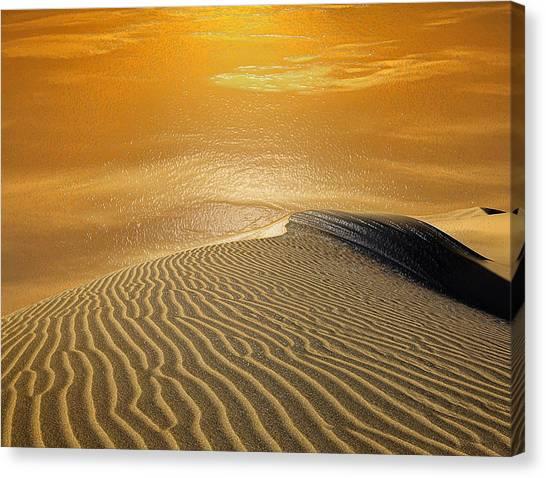 Arabian Desert Canvas Print - Sand Water by Scott Mendell
