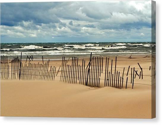 Sandblasted Canvas Print