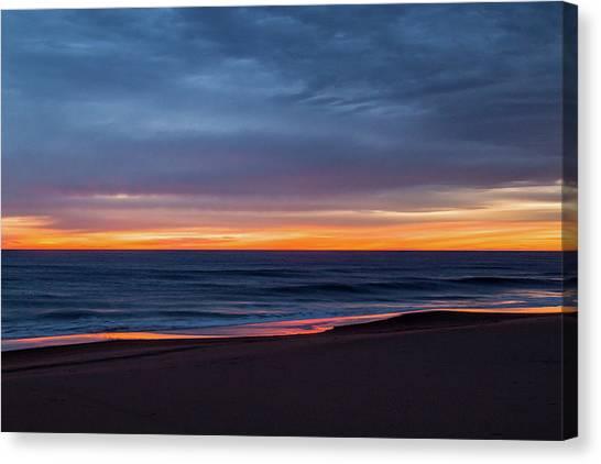 Sandbridge Sunrise Canvas Print