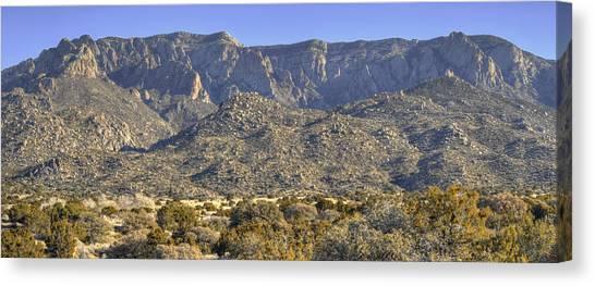 Sandia Mountain Panorama Canvas Print