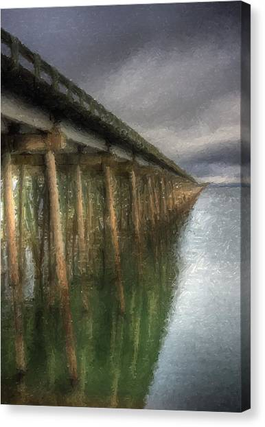 Sandpoint Longbridge  Canvas Print