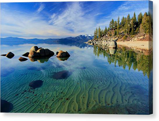 Sands Of Time 2 Canvas Print