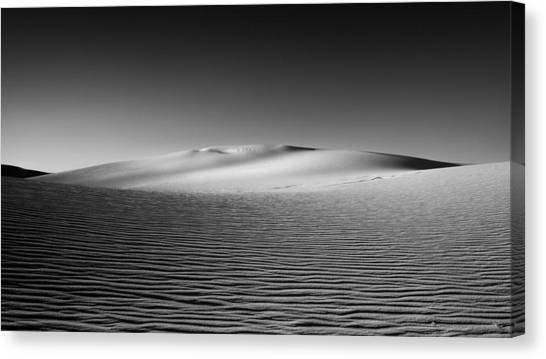 White Sand Canvas Print - Sandscape by Joseph Smith