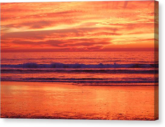 Sandshine Canvas Print by Jean Booth