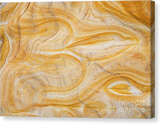 Om Canvas Print - Sandstone Aum by Tim Gainey