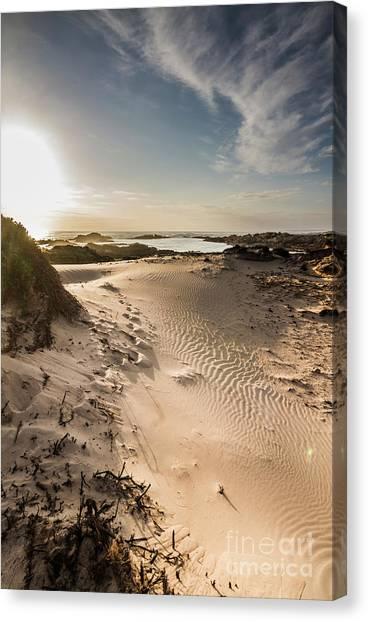 Sandy Beach Canvas Print - Sandy Beach Haven by Jorgo Photography - Wall Art Gallery
