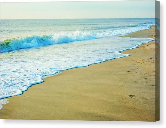 Sandy Hook Beach, New Jersey, Usa Canvas Print