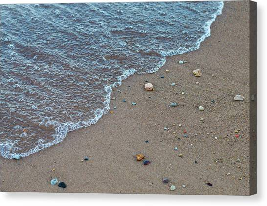 Sandy Canvas Print