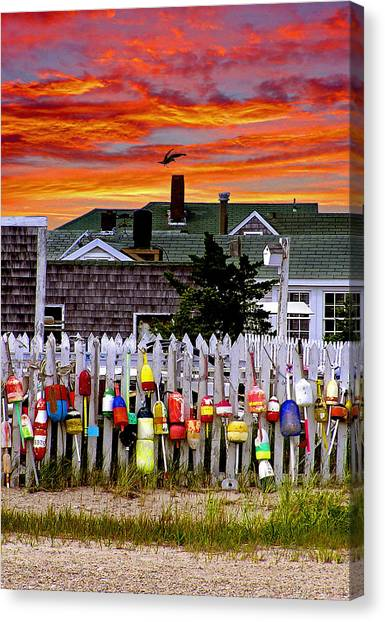 Sandy Neck Sunset Canvas Print