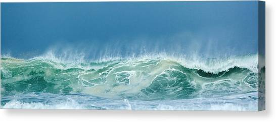 Sandy Wave Canvas Print