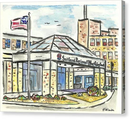 Sanford Regional Worthington Canvas Print