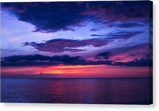 Sanibel Sunset Canvas Print
