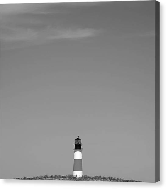 Sankaty Head Lighthouse Nantucket Canvas Print