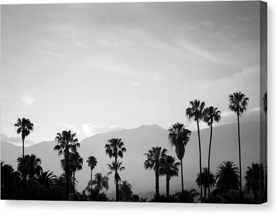 Santa Barbara I Bw Canvas Print