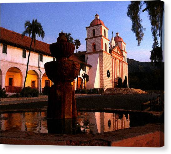 Santa Barbara Canvas Print