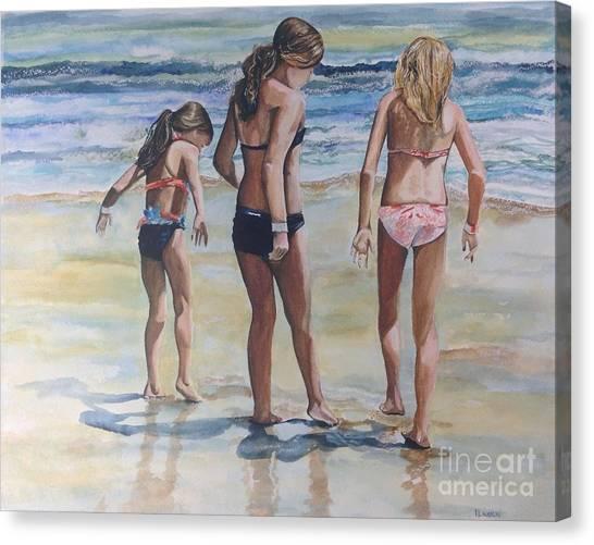 Santa Cruz Memories Canvas Print